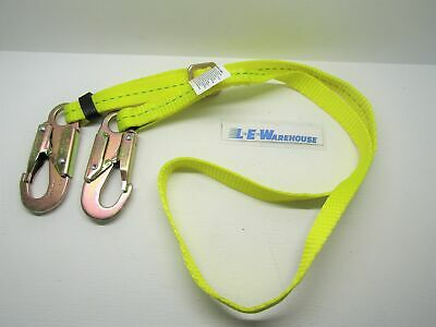 """All Gear Adjustable 1"""" X 4'-6' Polyester Lanyard W/ Safety Tracer"""