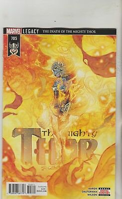 Marvel Comics Mighty Thor #705 May 2018 1St Print Nm