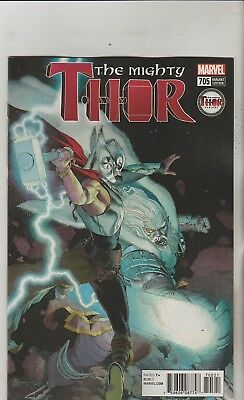 Marvel Comics Mighty Thor #705 May 2018 Thor Variant 1St Print Nm