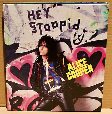 EPIC PROMO CD ESK-73845: ALICE COOPER - Hey Stoopid - 1991 USA