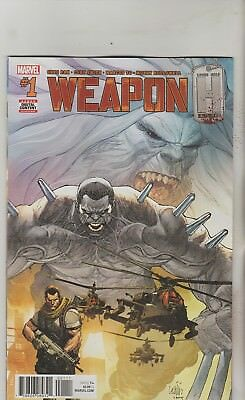 Marvel Comics Weapon H #1 May 2018 1St Print Nm