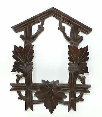 Antique Cuckoo Clock Case Frame - Very Nice! Mc94