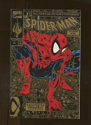Spider-Man 1 NM 9.4 Gold Edition * 1 Book Lot * Todd McFarlane Story Art & Cover