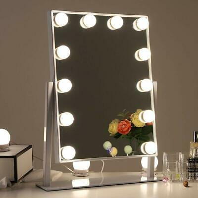 Chende Hollywood Vanity Makeup Mirror with Dimmable Bulb Lighted Dressing Mirror
