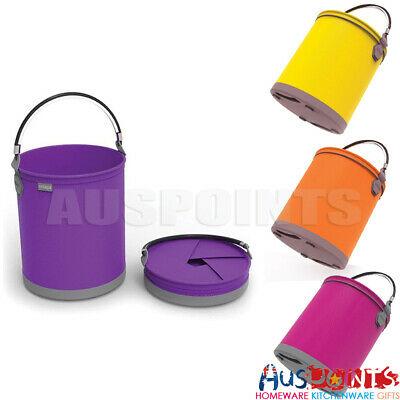 Colapz Bucket 10 Ltr Collapsible Eco-friendly Recyclable Plastic Compact Folding