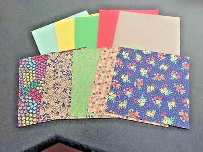 Stampin Up DSP Paper Cardstock Sample Packs - Cards Scrapbooking Paper Crafts