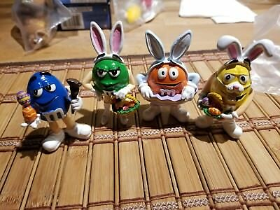 VERY RARE  M&M's  Easter figures m&m