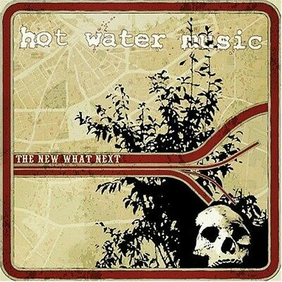 FREE US SHIP. on ANY 3+ CDs! ~Used,Very Good CD Hot Water Music: New What Next