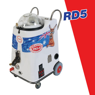 SteamVac RD5 carpet cleaner steam cleaning machine, 600psi Machine ONLY