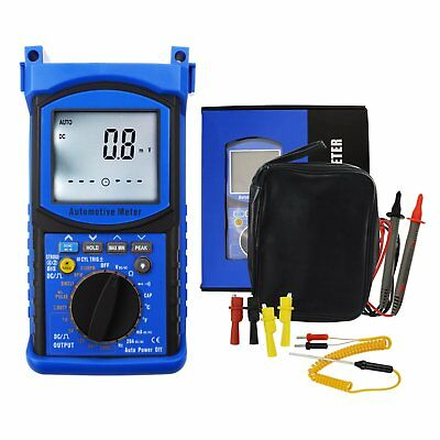 Handheld Automotive Engine Analyzer Multimeter Dwell Angle Pulse Width Frequency