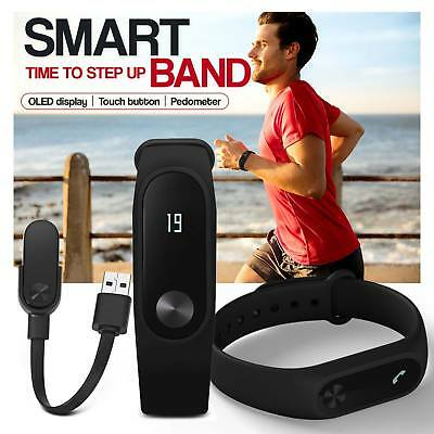 étanche Smart Watch Bluetooth Sport Bracelet Montre Connectée Fitness Pédomètre