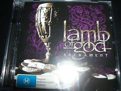 Lamb Of God Sacrament Limited (Australia) CD DVD Edition - Like New