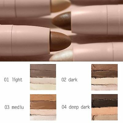 Creme Contour and Highlight Kit Stick Medium Kim Kardashian + Brush