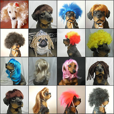 Pet Wigs- Synthetic Pet Wig Dogs Cats Wig LOVELY Dog Cat SUPPLIER Small Size