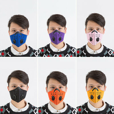 Outdoor Riding Dust Mask Protection Face New Gas Filter Head Respirator PM2.5