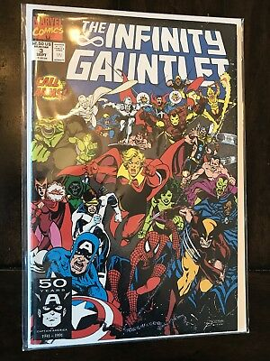 The Infinity Gauntlet #3 Thanos Warlock NM HOT! See Pics
