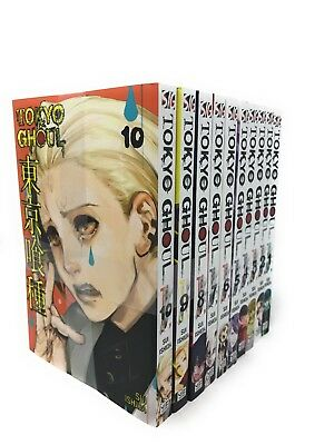 Tokyo Ghoul, Volume ( 1-10) 10 Books Collection Set By Suilshida Paperback New