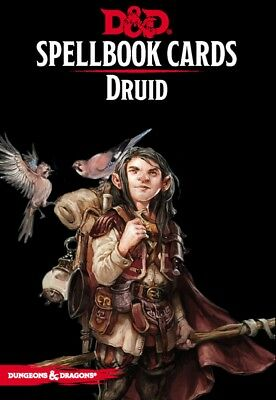 D&D: Spellbook Cards: Druid | Englisch, Dungeons & Dragons RPG
