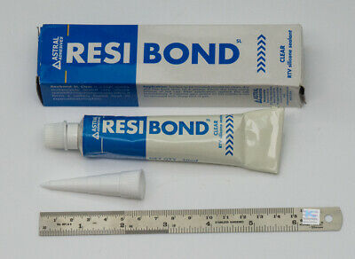 50g RESIBOND Watch crystal glass clear sealant glue acrylic mineral watchmakers