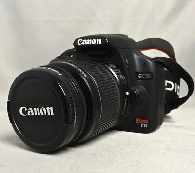 Canon Rebel EOS T1i w/ 18-55mm and 55-250mm lens,+  many extras