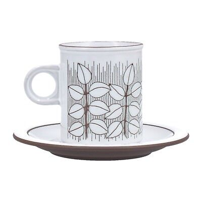 A Hornsea Charisma coffee cup and saucer