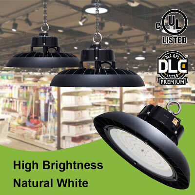 150W 200W LED High Bay Light for Garage Work Shop Industrial Warehouse Factory