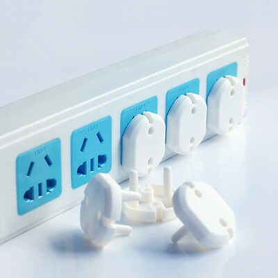 5PCS 2 Holes Sockets Outlet Cover Plugs Baby Kids Safety Protector Caps Set US