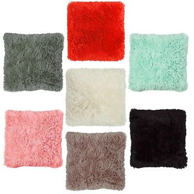 "Panache Home Doux Faux Fur Supersoft Cuddly Cushion Cover - 17"" or 22"""