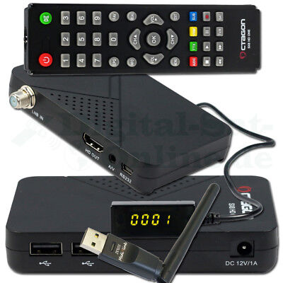 ► OCTAGON SX8 ONE MAGIC Full HD mini DVB-S2 Multistream FTA CA Sat Receiver WLAN