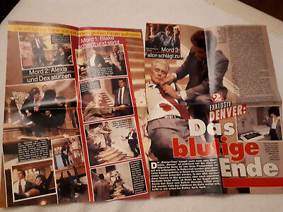 DYNASTY Der Denver-Clan | Linda Evans Joan Collins John Forsythe clippings