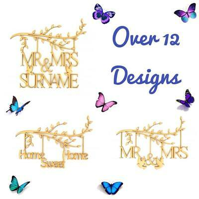 Wooden-MDF-Family-Tree-Branches-Ikea-Ribba-Frame-Inserts-Wedding-Mum-Home-Mr&Mrs