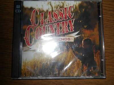 """2 CD´s    Classic Country """"`60s Legends"""