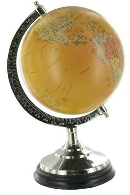 Globe Rotating Swivel Map Earth Geography World 35cm x 24cm RRP £61.00