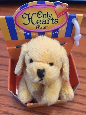Nib Only Heart Club Golden Retriever 'jake' Rare