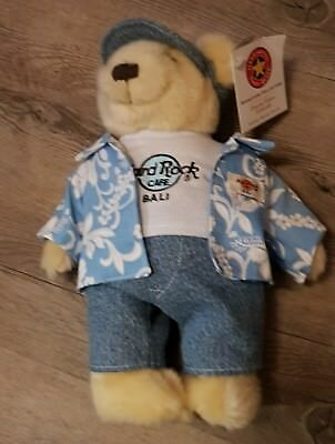 Hard Rock Cafe Bali Tourist Boy Teddy Bear  HTB  Herrington
