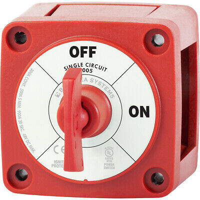 Blue Sea 6005 m-Series (Mini) Battery Switch Single Circuit ON/OFF 6005
