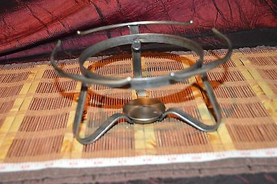 "Antique Vintage Metal Warming Stand 8""x4"""