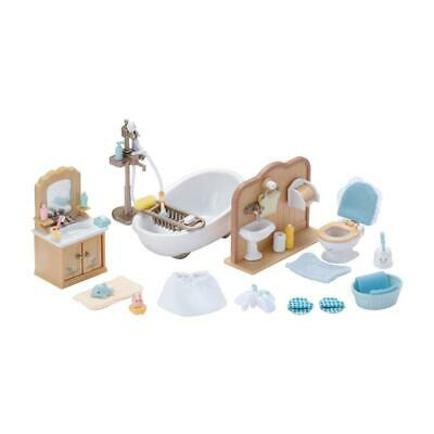 Sylvanian Families Bathroom Set Bathtub Toilet Mirror Bathroom Cabinet 2952
