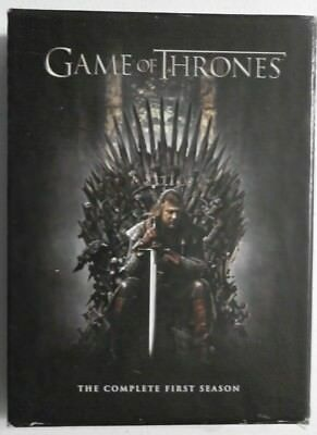 Game Of Thrones The Complete First Season Dvd Region 1