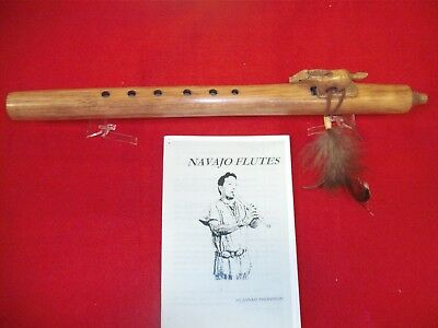 Native American Indian Hand made Navajo Flute by Jonah Thompson