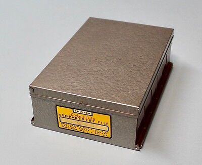 Vintage PHOTOGRAPHER'S LOT - KODAK SLIDE Storage Box - Filters and Containers