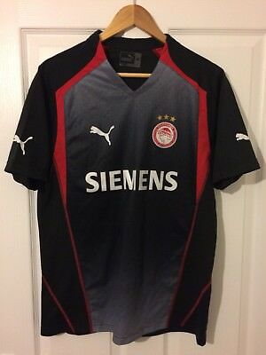 2005/2006 Olympiakos away football shirt Puma Greek Greece medium men's rare