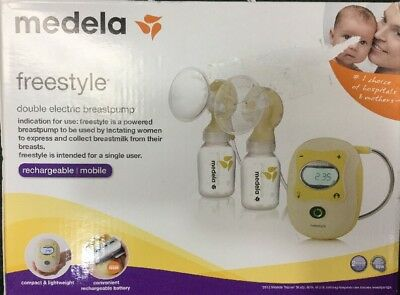 Medela Freestyle Double Electric Breast Pump 67065 Brand New In Box Sealed