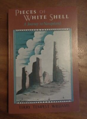 SIGNED Williams Book PIECES OF WHITE SHELL A Journey to Navajoland