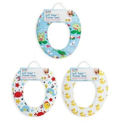 Baby Toddler Toilet Seat Training Padded Child Essential Potty Trainer Kids New