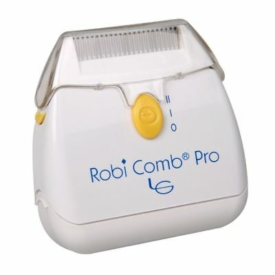 Robi Comb Pro Head Lice Nits Electric Comb Battery Operated Safe zapper