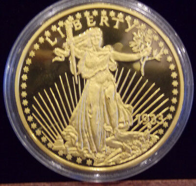 Medaille Rep. Gold Double Eagle 2003