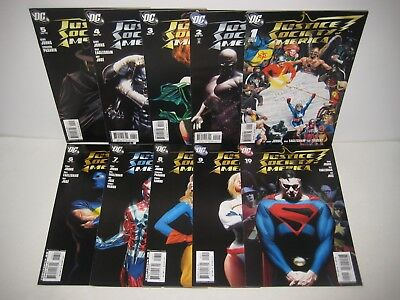 Justice Society of America 1 2 3 4 5 6 7 8 9-30 Johns Ross Kingdom Come Run