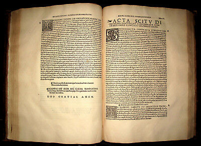 1524 Post Incunable COUNCILS Synods CHURCH Theology ECCLESIASTICAL Reformation