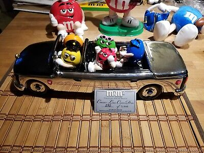 M&M Collectible Galerie Ceramic Limo - Limited Edition RARE #292 Of 5000 m&m's